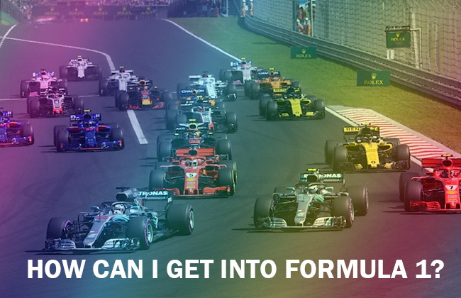 How can I get into Formula 1